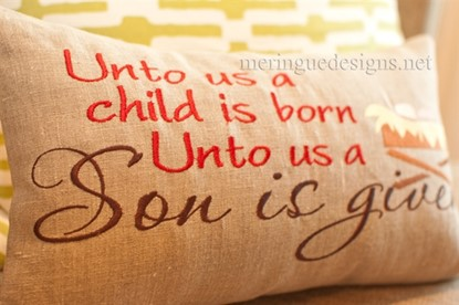 Picture of Unto us a child is born